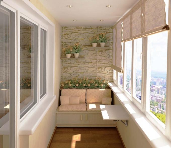 Кабинет на балконе - создание уютного рабочего места