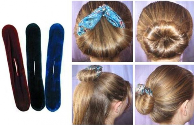 "How easy it is to make a device for hairstyles ""Sophist twist"" with their hands"