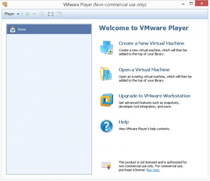 VMware Player.