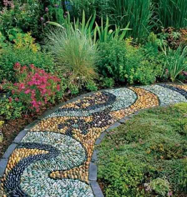 Как сделать дорожку в саду из гравия
