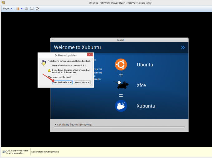 VMware Tools for Linux.