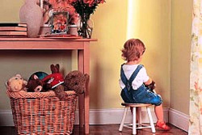 Как и за что следует наказывать ребенка