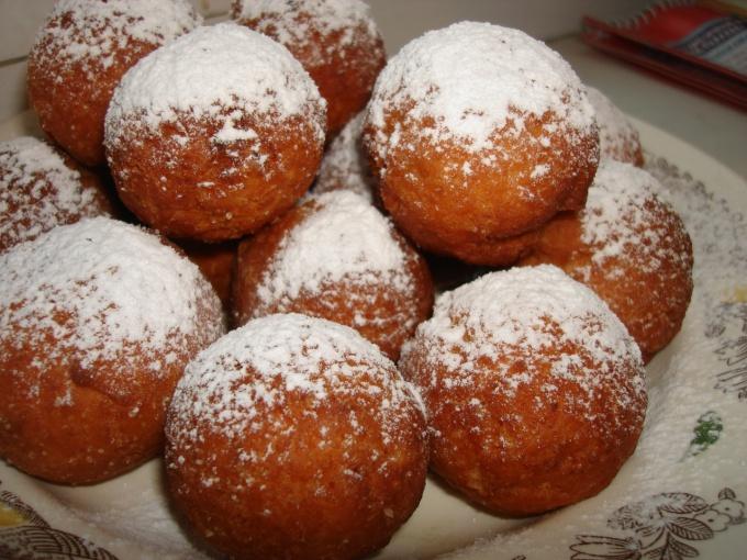 пончики творожные в мультиварке рецепты с фото