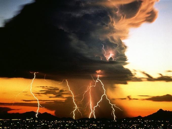 как фотографировать молнию
