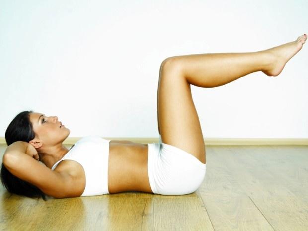 Как избавиться от живота - три простых упражнения