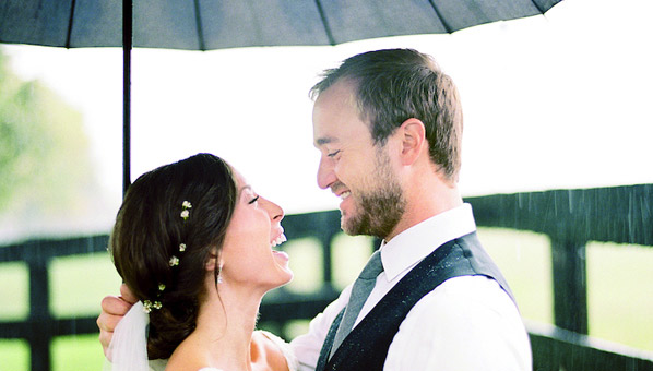 Что делать если в день свадьбы идет дождь
