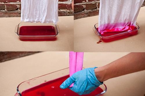 Как покрасить ткань природными красителями
