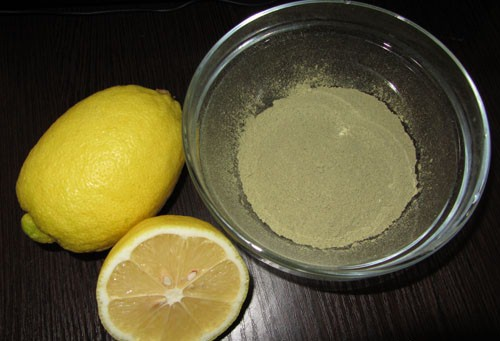 henna and lemon juice - based paste mehendi