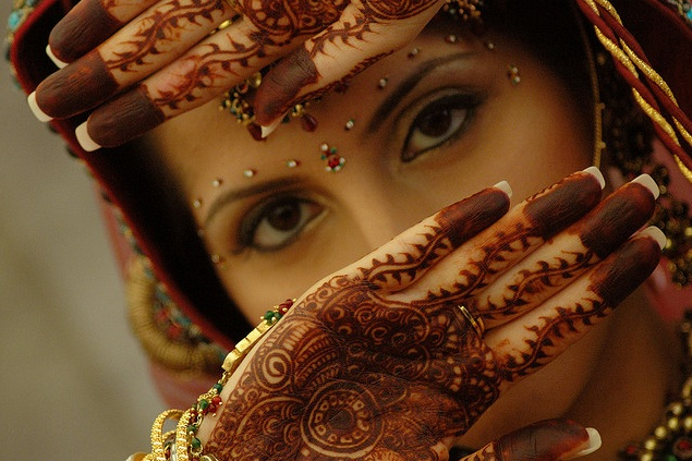 The beauty of mehendi