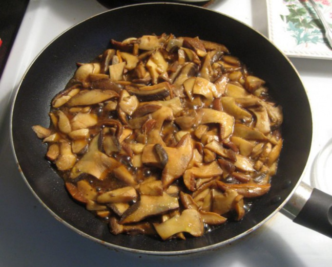 Заготавливаем на зиму жареные грибы