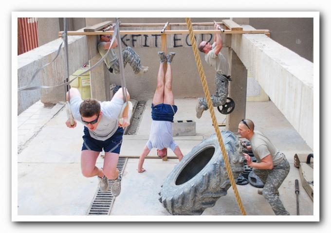 какие упражнение из кроссфита нужеы для пожарных