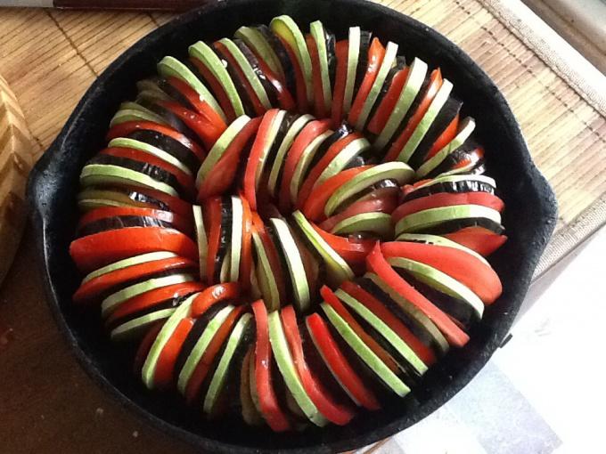 Как сделать рататуй - вкусное блюдо из овощей