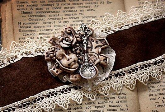 Текстильный браслет своими руками