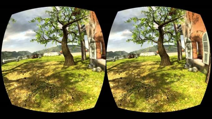 3D игры для очков виртуальной реальности