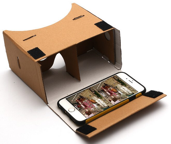 Make virtual reality glasses