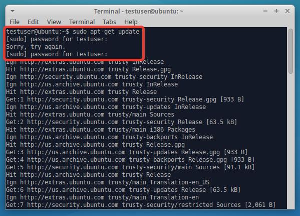 Выполение apt-get update.