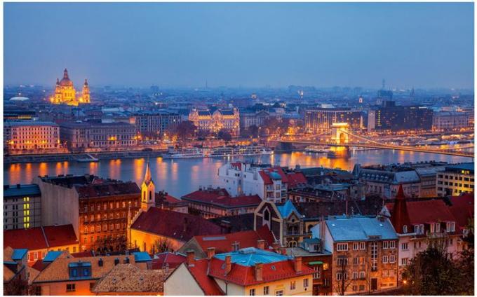 Будапешт с высоты