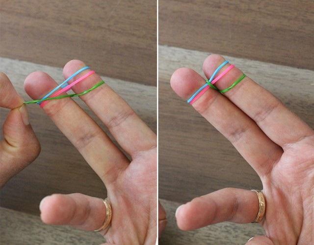 как плети браслеты из резинок 2