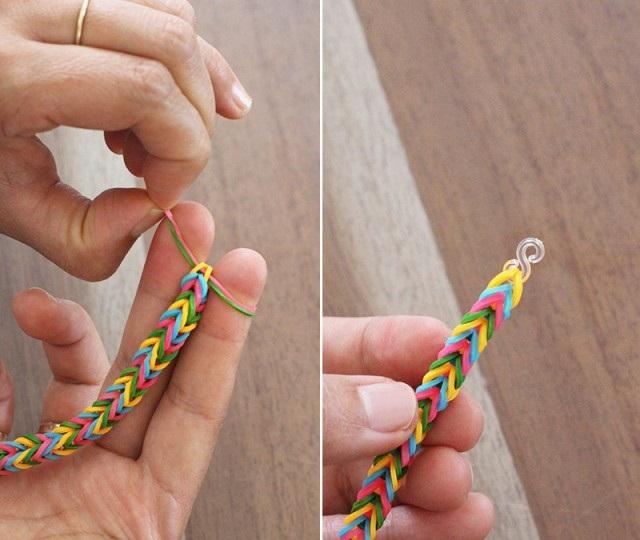 как плети браслеты из резинок 7