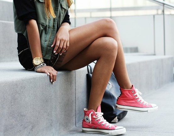 What to wear with Converse sneakers
