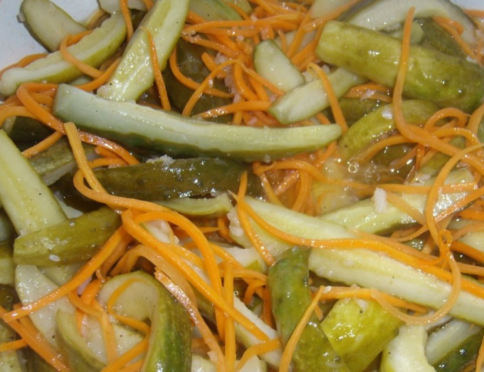 Как сделать салат из огурцов на зиму