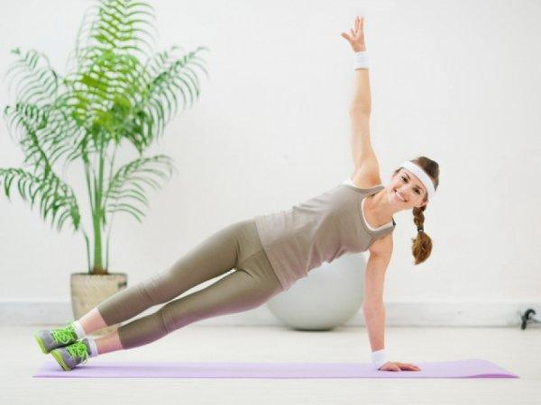 Планка - одно из лучших упражнений для моделирования тела.