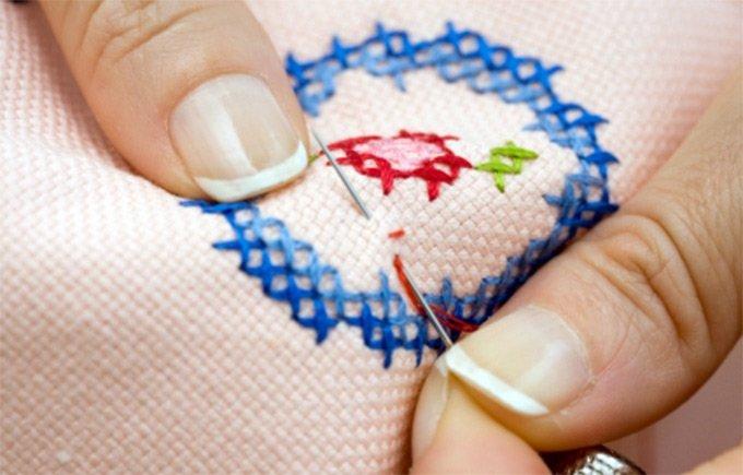 Как начать вышивать