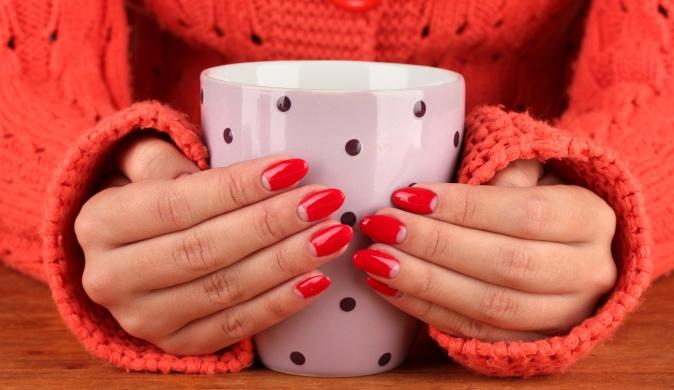 How beautiful to photograph a manicure?