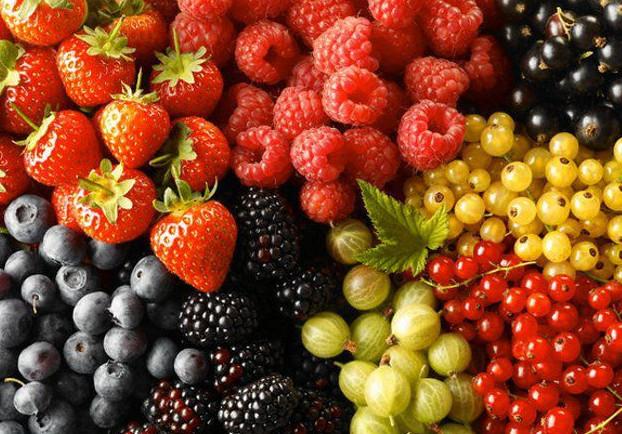 Самые низкокалорийные ягоды