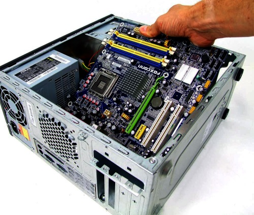 Собираем персональный компьютер из комплектующих