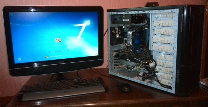 Компьютер собран своими ркуами