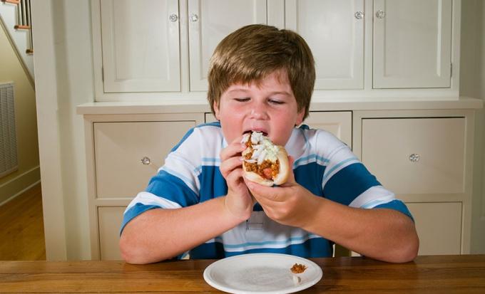 Ожирение у детей и подростков
