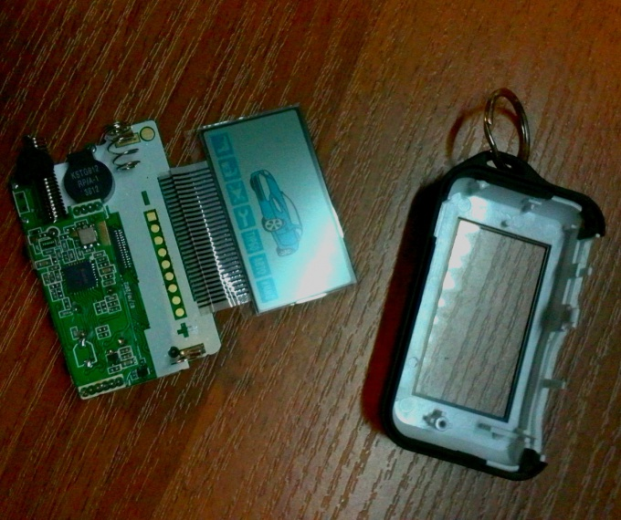 Parse keychain car alarm StarLine E61