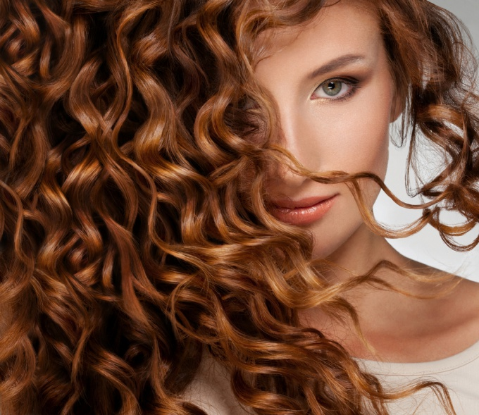 To make curls - easy!