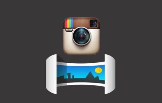 Как загрузить панораму в Instagram