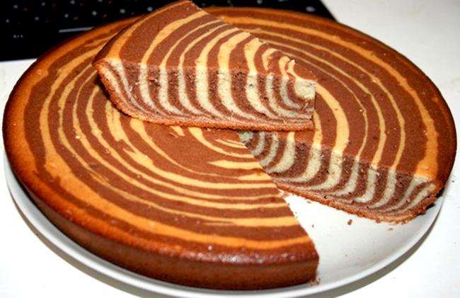 Как испечь манник на кефире с какао?