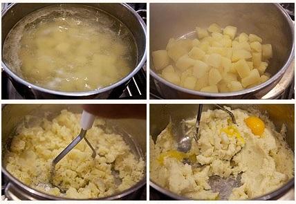 Как приготовить картофельные хризантемы