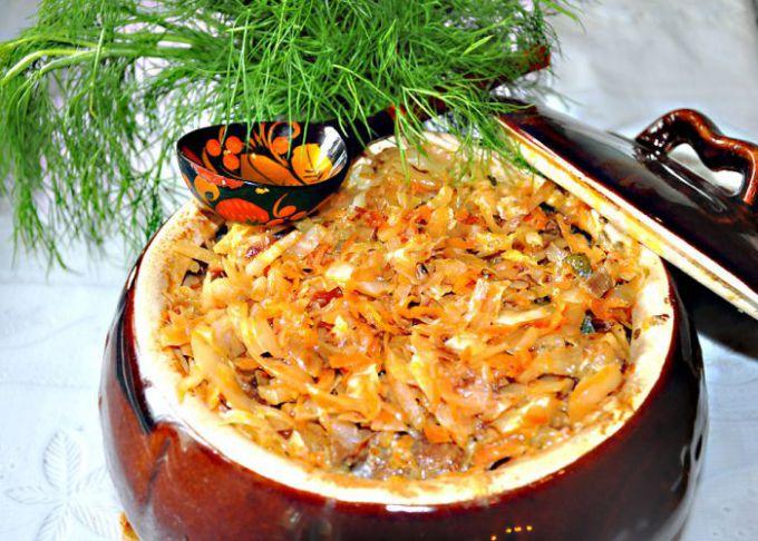 Солянка из капусты рецепт с фото