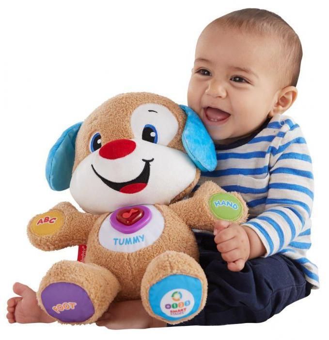 Любимая игрушка создает малышу атмосферу спокойствия