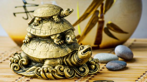 Статуэтка черепахи - талисман феншуй