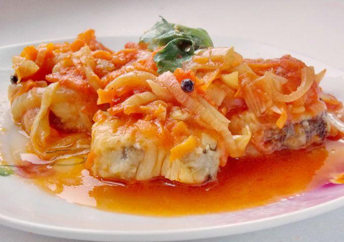 Рыба в томате рецепт с фото, пошаговое приготовление 49