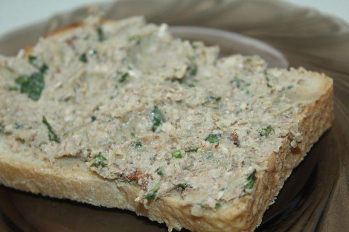 Рецепт пхали из баклажана