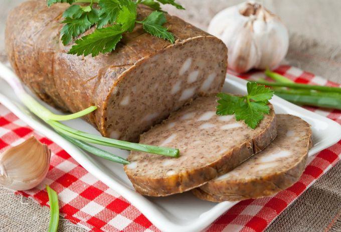 Печеночная колбаса по-домашнему