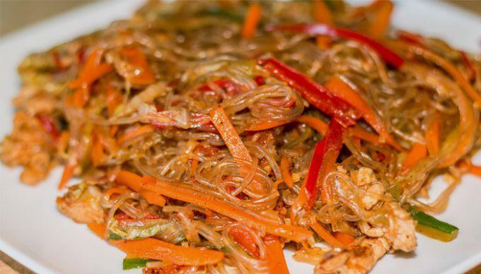 Салат фунчеза мясом фото