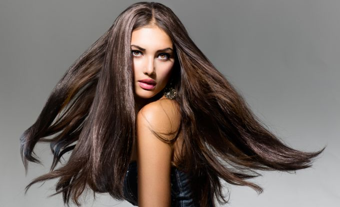 Brilliant properties of hair at home