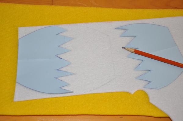 Мастер-класс - как сшить фетровую сумочку в форме цыпленка