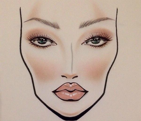 Makeup 2016: choose a bright accent