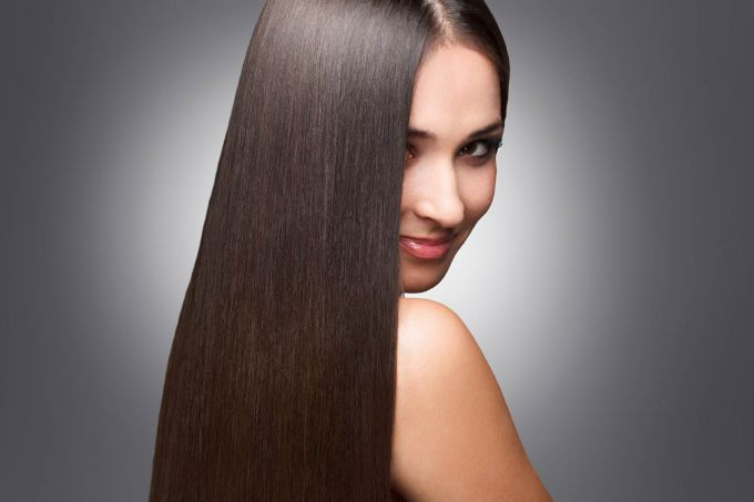 How to make hair straight