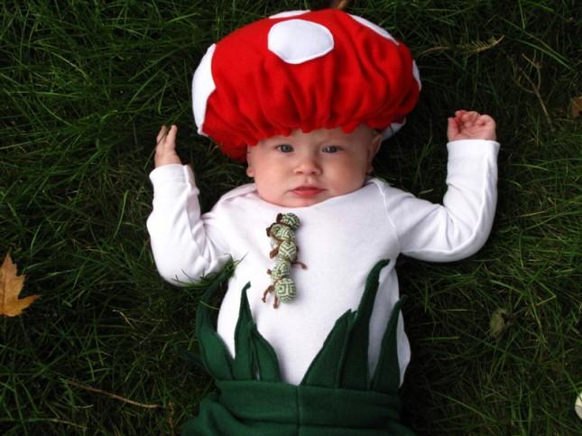 Как сделать костюм гриба