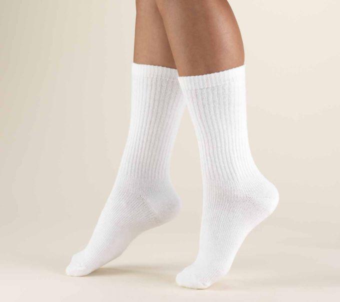 Как сделать носочки белоснежными